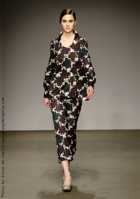 L. Rousseau Fall/Winter 2014-2015, photo by Giusy De Ceglia