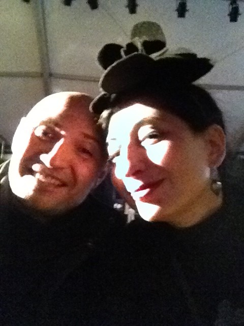 Me and Luca Reali, photo by N