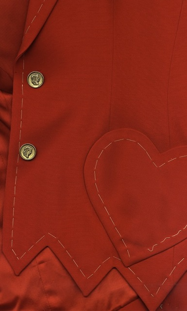 Jacket by Moschino( late Eighties), Maria Luisa Frisa Collection