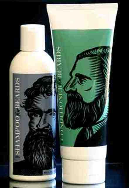 Beardsley, beard shampoo and conditioner