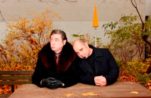 Blixa Bargeld and Teho Teardo