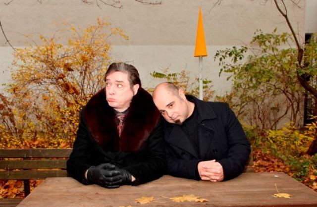 Blixa Bargeld and Teho Teardo