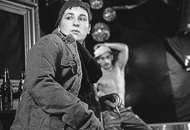 Susanne Sachsse, still image from Pierrot Lunaire by Bruce LaBruce