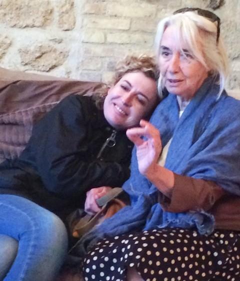 Ilaria Venturini Fendi and Antonella Fornai, photo by N