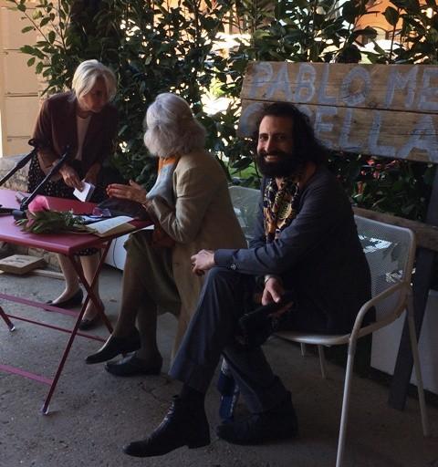 Antonella Fornai, Ida Tonini and Meo Fusciuni, photo by N