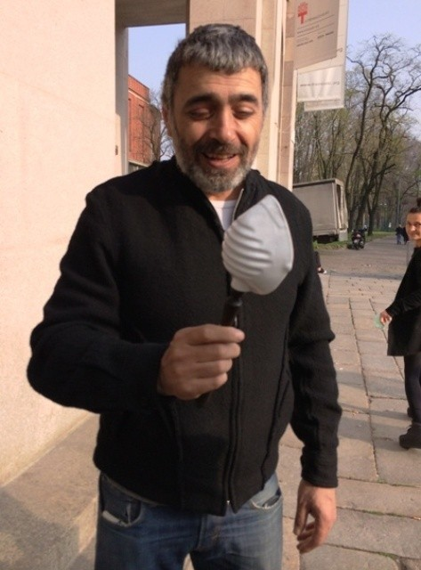 Mustafa Sabbagh, photo by N
