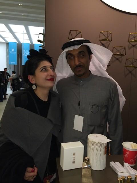 Dhaer Bin Dhaer and me, photo by N