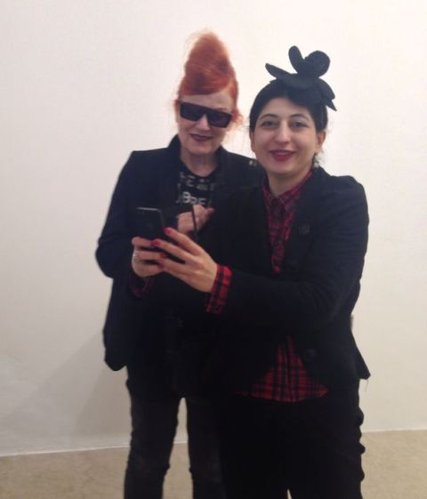 The one and only Roberta Valentini and me, photo by Alessandro Boccingher
