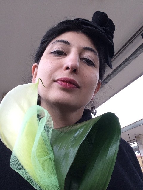 A calla lily, unexpected gift at the Brescia railway station, given to me by a Florentine woman, photo by N