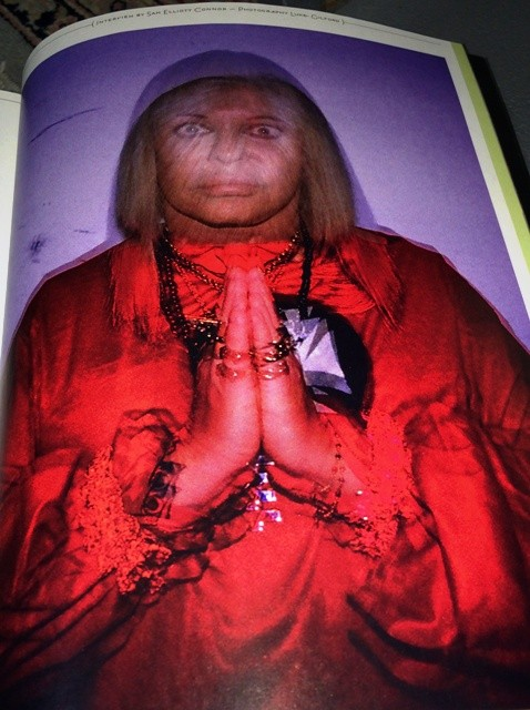 And inside Dazed and Confused, the aristocracy of underground: Genesis P-Orridge, seen by Luke Wilson, photo by N