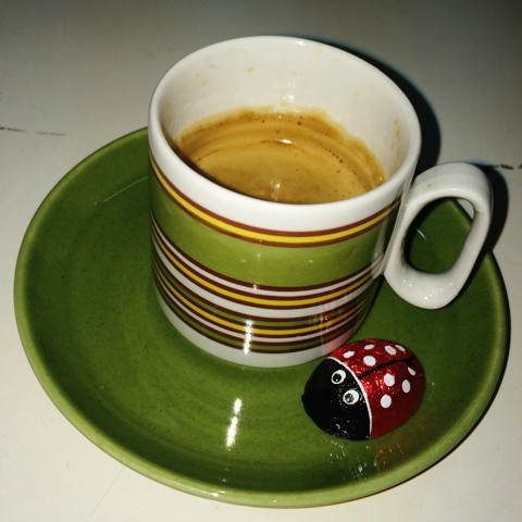 A short break featuring, chocolate, coffee and Tognana porcelain from Seventies, photo by N