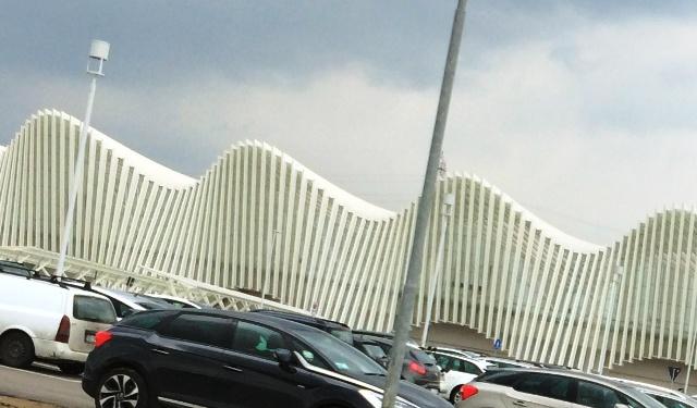 The Reggio Emilia high velocity railway station, photo by N