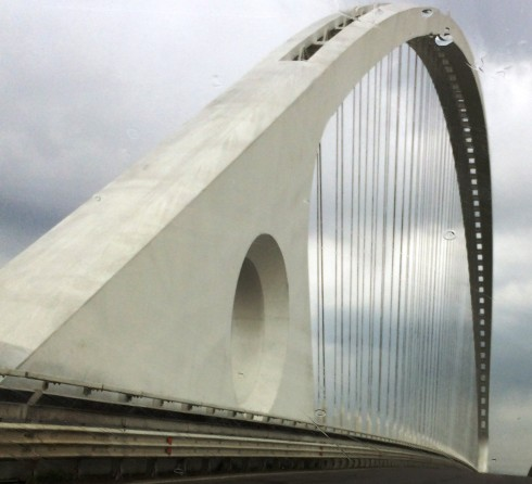 The Calatrava bridge, photo by N