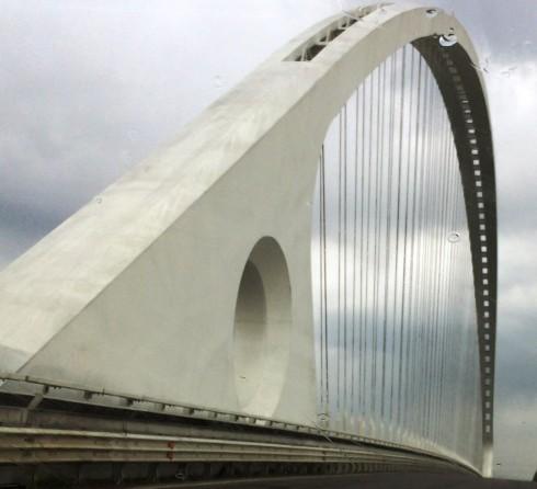 The Calatrava bridge, photo by N