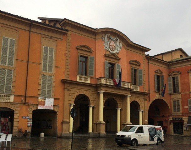 The City of Reggio Emilia offices, photo by N
