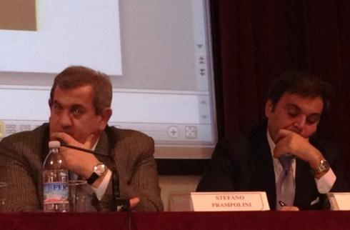 Stefano Prampolini and Antonio Franceschini, photo by N