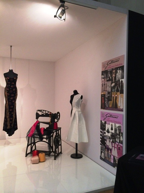 The clothes inspired by Gattinoni, made by the students from Modena Cattaneo Deledda art institute, photo by N
