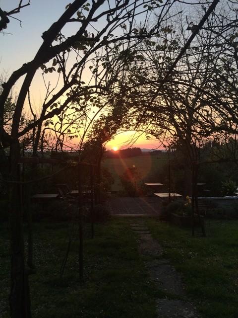 Sunset at La Lodola, photo by N