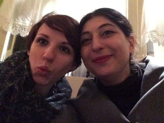 Miriam Karlkvist and me