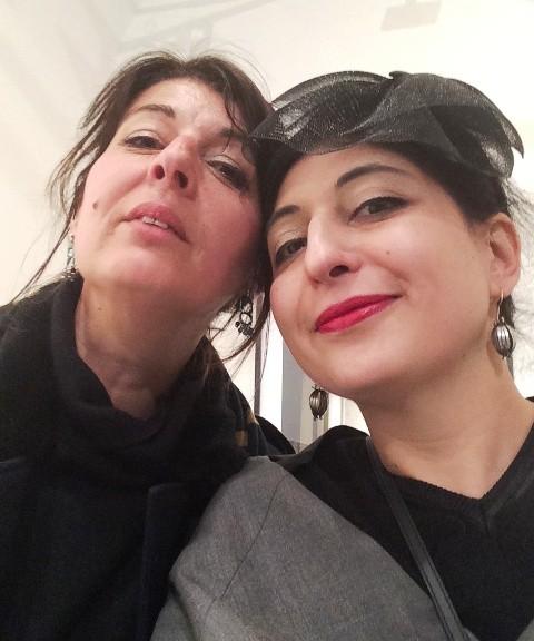 Marina Paris and me, photo by N