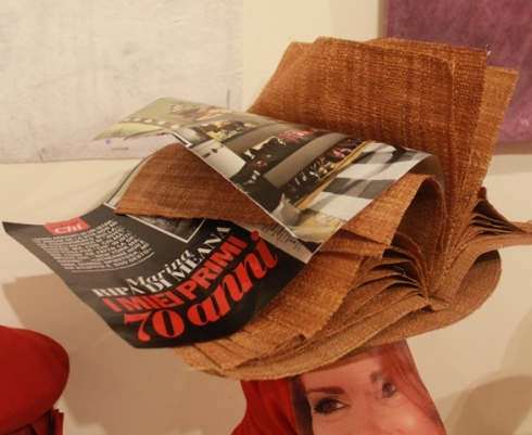 The only way where I can appreciate a gossip  - Italian -magazine, photo by Giorgio Miserendino