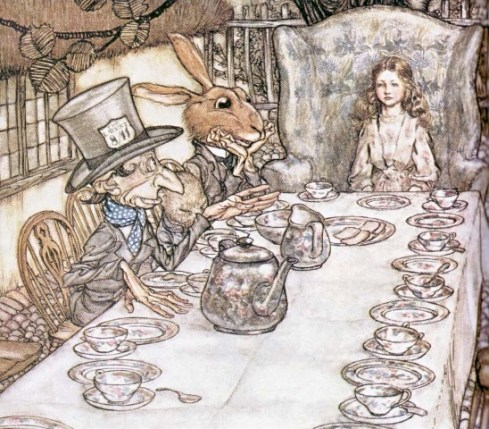 Alice' s adventures in Wonderland by Arthur Rackham