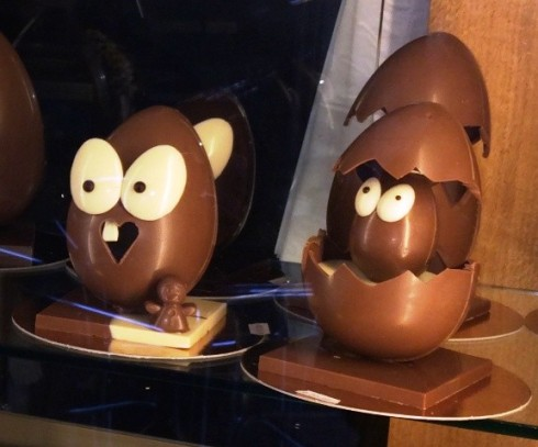 Easter egg from the Reggio Emilia casa del miele, photo by N