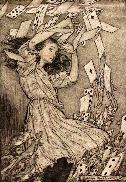 Alice' s adventures in Wonderland by Arthur Rackham