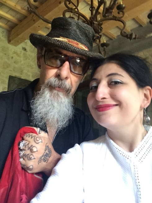 Roberto D' Agostino and me, photo by N