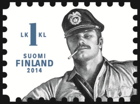 Tom of Finland stamp