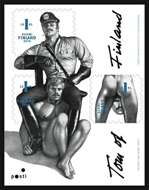 Tom of Finland stamp