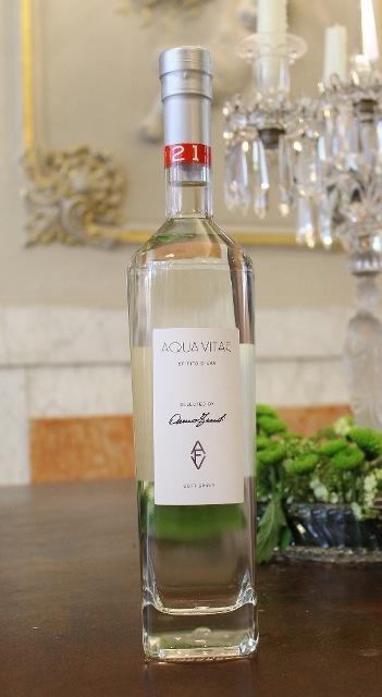 Aqua Vitae (spirit), featuring in AVF, a selection of wines curated by Anna Venturini Fendi