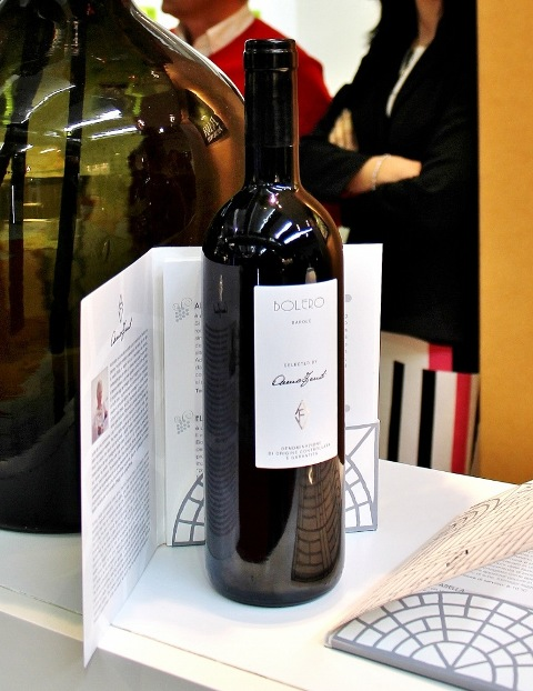Bolero(Barolo) featuring in AVF, a selection of wines curated by Anna Venturini Fendi