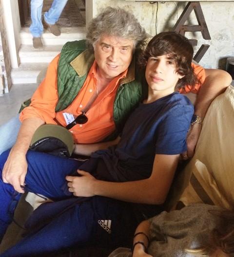 Umberto Pons and Giacomo Pons Fendi, photo by N