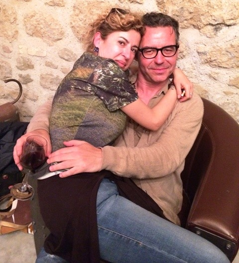 Two friends are better than one: Ilaria Venturini Fendi and Nicola Paccagnella, photo by N