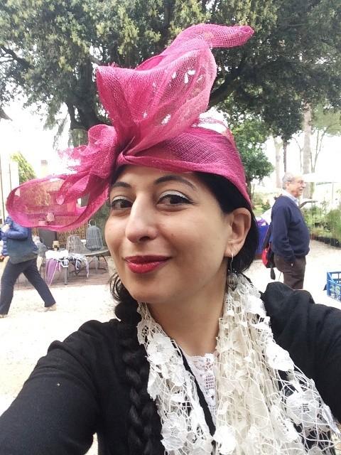 Me wearing a hat by Patrizia Romiti