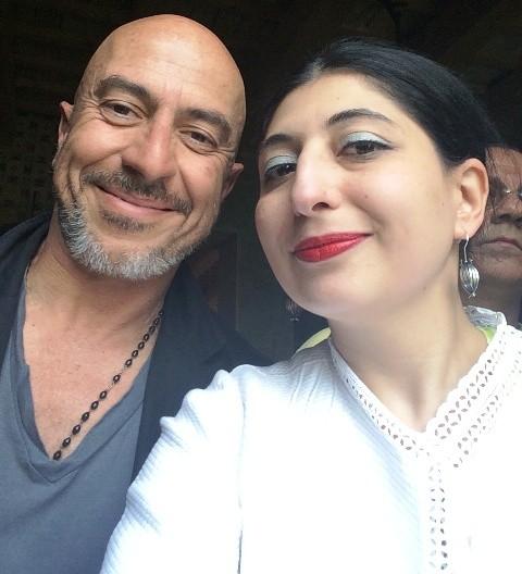 Roberto Ciufoli and me