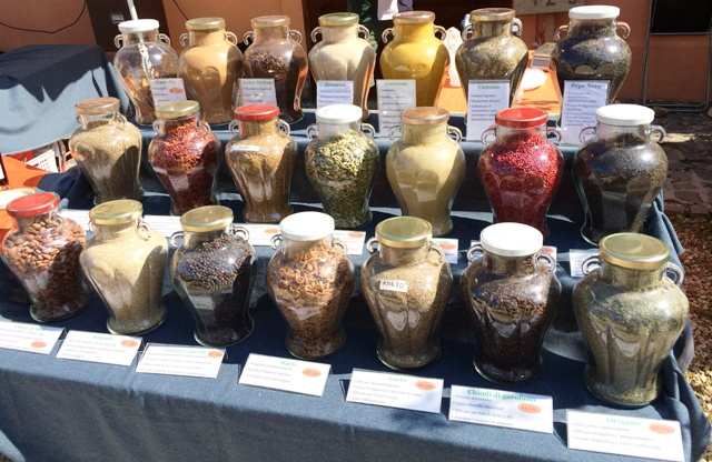 Spices at Floracult, photo by N