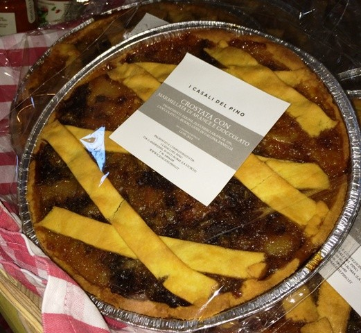 One of the delicious pastries from I Casali del Pino, photo by N