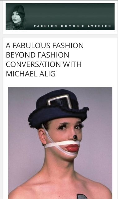 Michael Alig on FBF