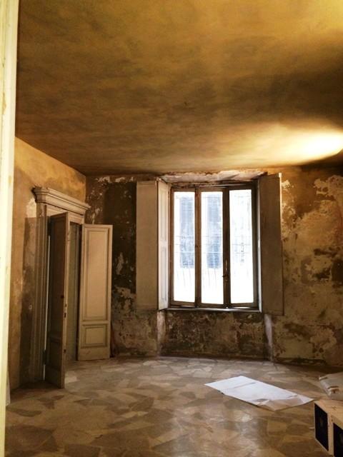 The evocative interiors of Brescia, Palazzo Guaineri delle Cossere, photo by N
