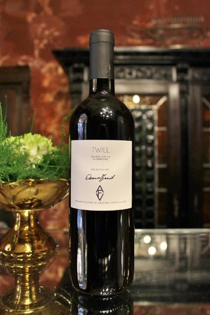Twill (Valpollicella Superior) featuring in AVF, a selection of wines curated by Anna Venturini Fendi