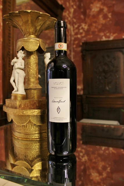 Velvet (Classic Chianti) featuring in AVF, a selection of wines curated by Anna Venturini Fendi
