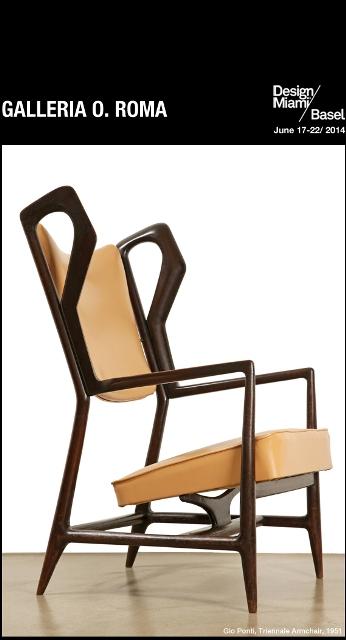 """Giò Ponti, """"Triennale""""  armchair, 1951"""