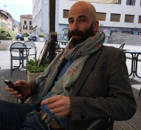 Coffee time with Antonio Gardoni, photo by N