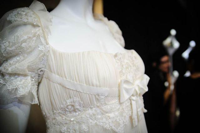 A dress by Christian Lacroix at the bride atelier La Maison Blanche, photo by Francesca Lattanzi & Luca Sorrentino