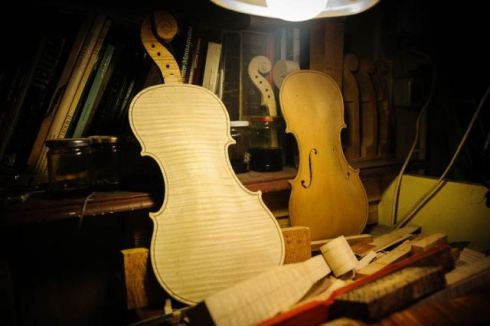 he factory of lutist Michel Eggimann, photo by Francesca Lattanzi & Luca Sorrentino