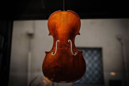 The factory of lutist Michel Eggimann, photo by Francesca Lattanzi & Luca Sorrentino