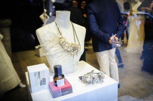 "The jewelry by Myriam B.and the scent ""3# nota di viaggio (Ciavuru d'amuri)"" by Meo Fusciuni, photo by Francesca Lattanzi & Luca Sorrentino"