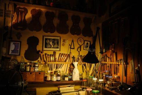 he factory of lutist Michel Eggimann, photo by Francesca Lattanzi & Luca Sorrentino